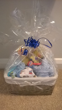 Boys hamper - packaged