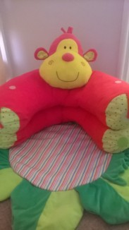 Inflatable monkey ring...